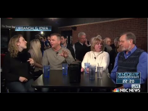 NBC News-YouTube Democratic best of || Zapping-TV
