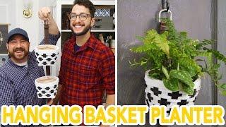 DIY Hanging Basket Garden- HGTV Handmade