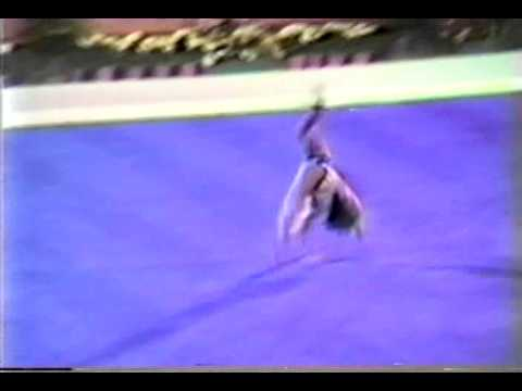 1st AA USA Mary Lou Retton FX - 1984 Olympic Games 10.00