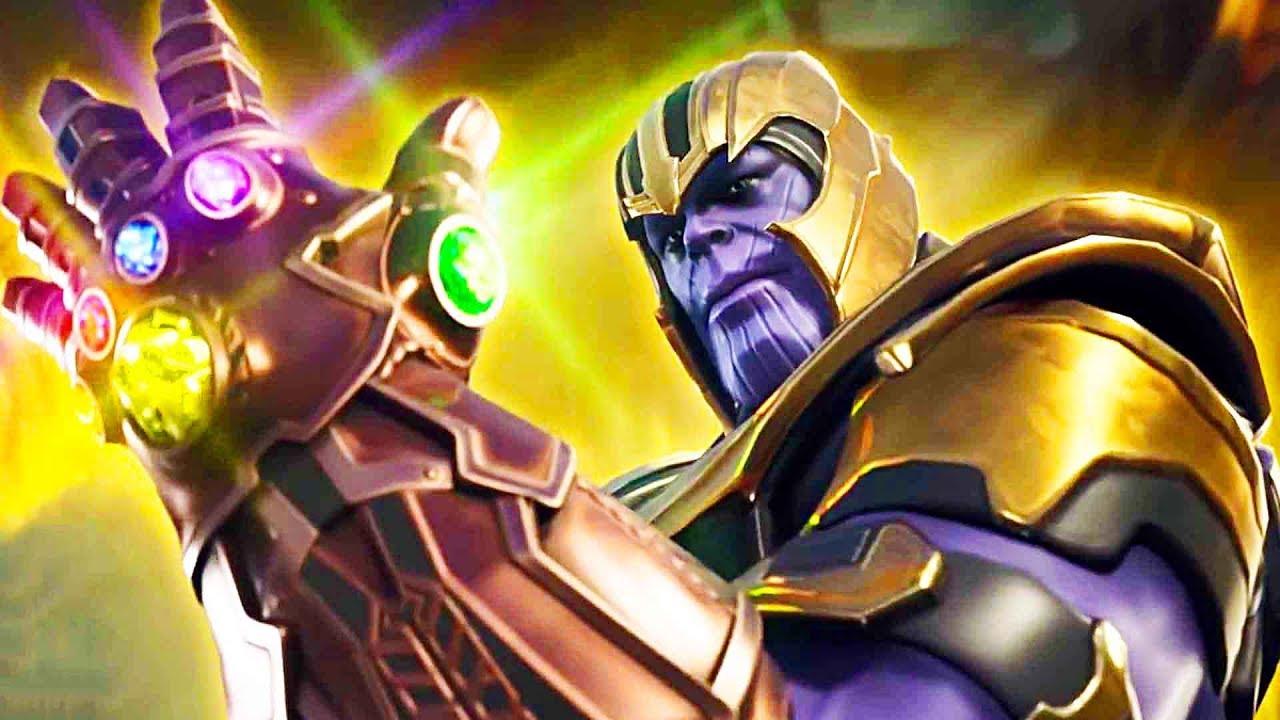 Fortnite Thanos Infinity Gauntlet Gameplay Trailer