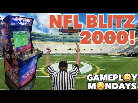 NFL Blitz 2000 Arcade Gameplay! | Gameplay Mondays! from Killer Arcade Games