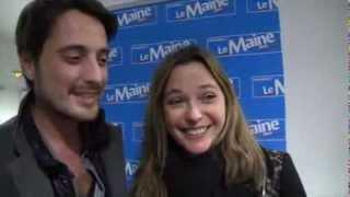 Vincent Cerutti et Sandrine Quétier s'embrassent