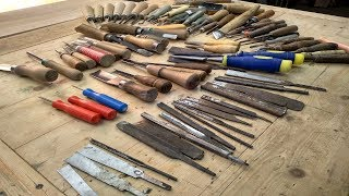 Инструмент для резьбы по дереву, обзор резцов