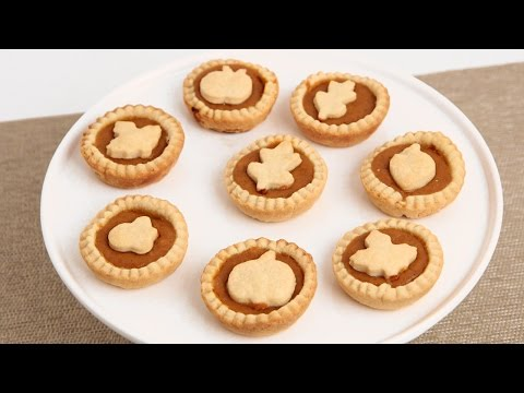 Mini Pumpkin Pies Recipe - Laura Vitale - Laura in the Kitchen Episode 844