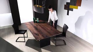 Atlas 1280-II stone table  - Video