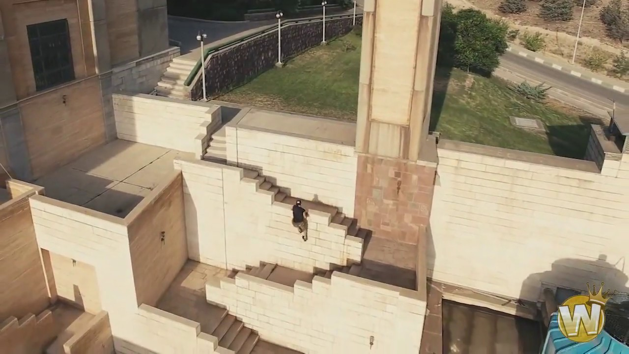 How Parkour looks (Drone)