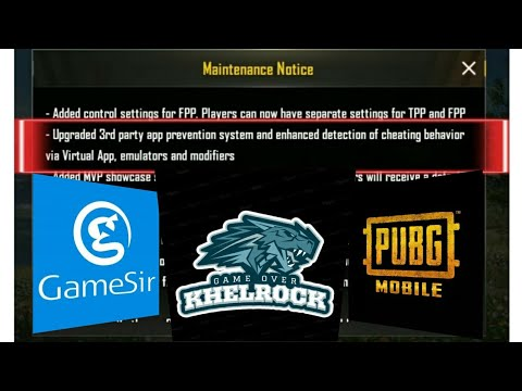 GAMESIR X1 PUBG MOBILE No Banned