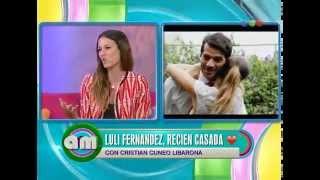 Luli Fernández en AM - 30/11/2014