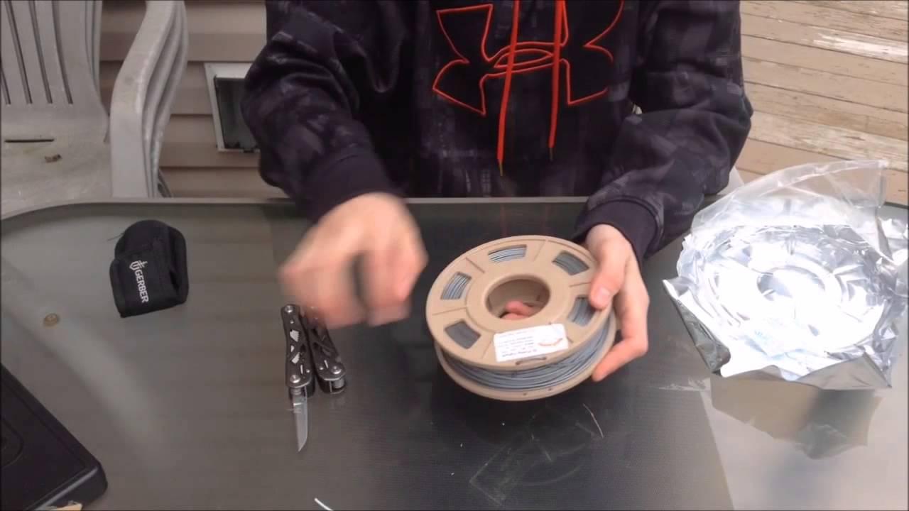 reprapper tech aluminium filament youtube