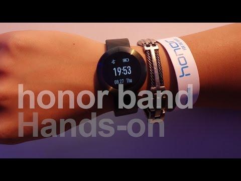 Honor Band (zero) Smart Watch Hands-on