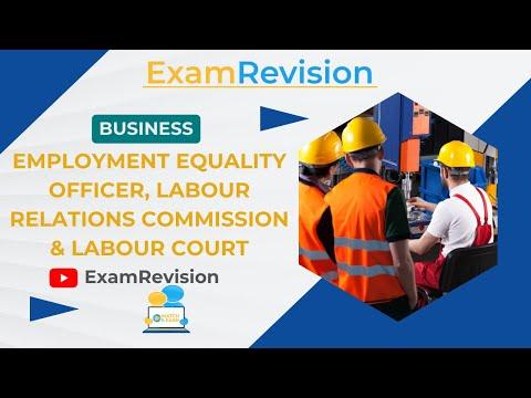 Unit 1 - Employment Equality Officer, Labour Relations Commission & Labour Court