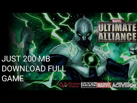 download marvel ultimate alliance psp - Myhiton