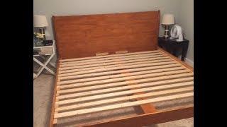 DIY Modern Plywood Platform Bed