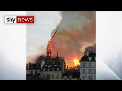 Breaking News: Fire breaks out at Notre-Dame cathedral