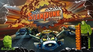 Steampunk Racing крутые гонки для Android