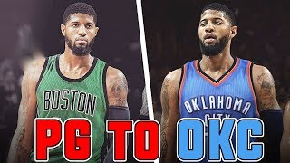 Why paul george was traded to the thunder and not the celtics