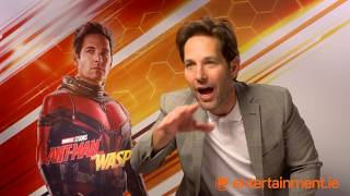 Paul Rudd reacts to the theory that Ant Man could defeat Thanos