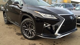 Lexus RX 350 F Sport 2016 Videos