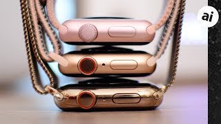 Compared! All The New Gold Apple Watches!