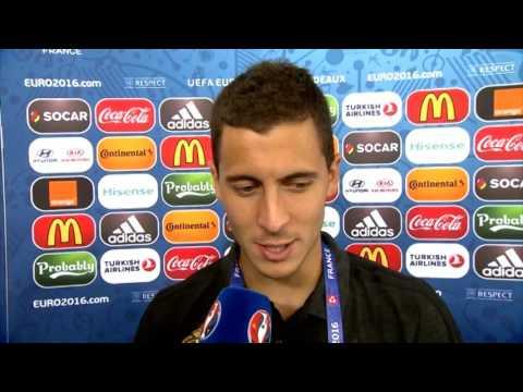 """Eden Hazard: Belgium scored some """"beautiful"""" goals against Ireland"""