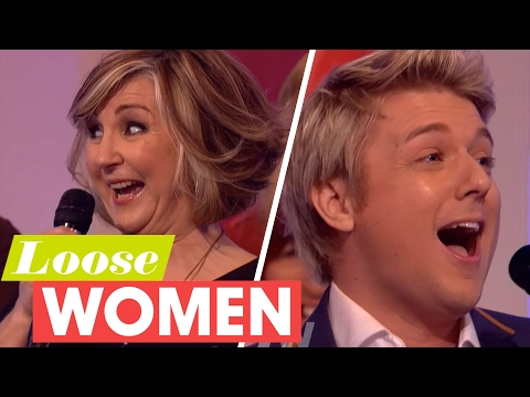 Lesley Garrett and G4's Jonathan Ansell Have an Operatic Sing-Off! | Loose Women