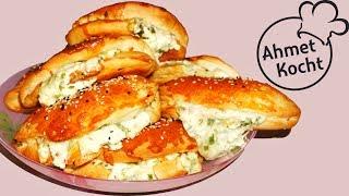 Pogaca mit Weichkäse | AhmetKocht | türkisch kochen | Ramadan Spezial