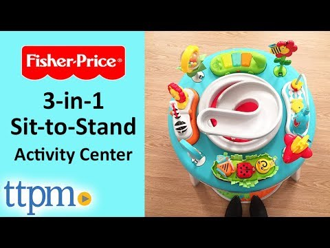 3-in-1 Sit-to-Stand Activity Center From Fisher-Price