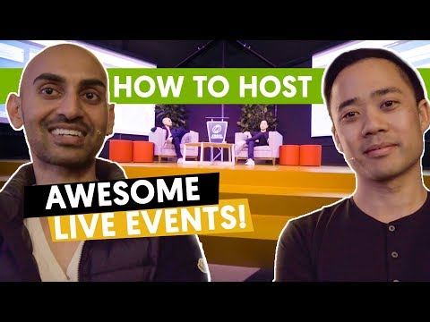 Kicking off Marketing School Live - What makes an event succeed?