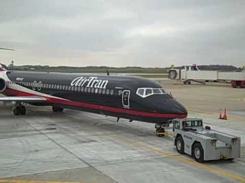 AirTran Airways' Falcon 1 at CAK  October 29, 2009