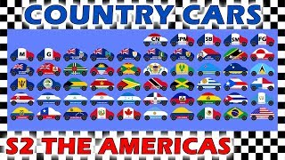 Country Cars Race Season 2 - The Americas Part 3 - Who Will Win?