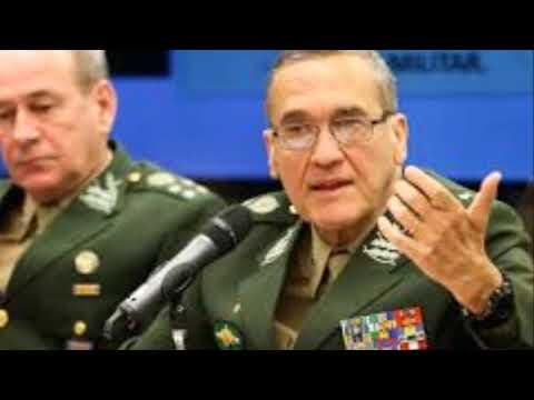 Notícia urgentíssima sobre o general Fernando Azevedo e Silva E Vilas Boas 30122017