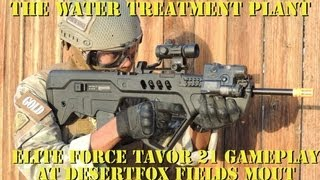 Attack and Defend the Water Treatment Plant at DesertFox Fields MOUT (Tavor 21 gameplay)