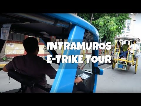 Tour Intramuros on the BEMAC E-Trike!