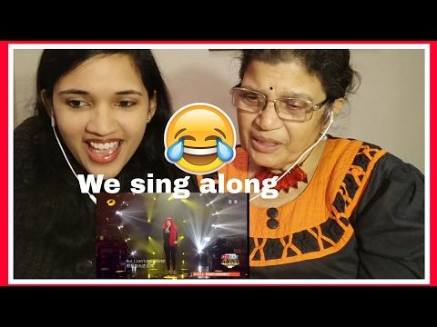 Shila Amzah sings 'Listen' | Mom & Daughter REACTION