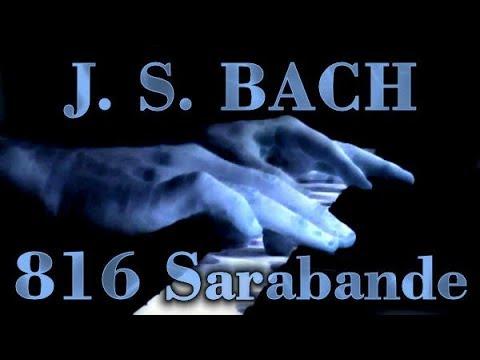 Johann Sebastian BACH: Sarabande, BWV 816
