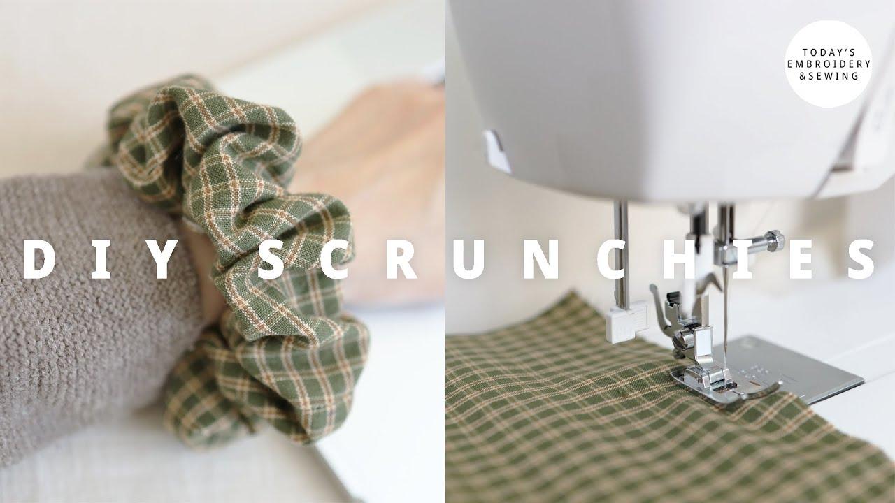 Download DIY ScrunchiesTutorial + ScrunchiesEasy to Make (sewingprojects for beginners)