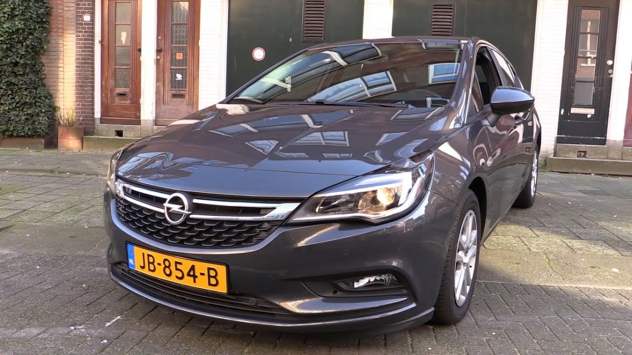 Colour car you drive - Opel Astra 2017 Start Up Drive In Depth Review Interior Exterior Youtube