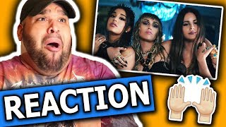 Ariana Grande, Miley Cyrus, Lana Del Rey - Don't Call Me Angel (Music Video) REACTION MP3