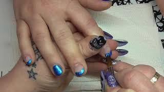 Blau bleibt Design Neu ;-) / NailsbyLadydesigner