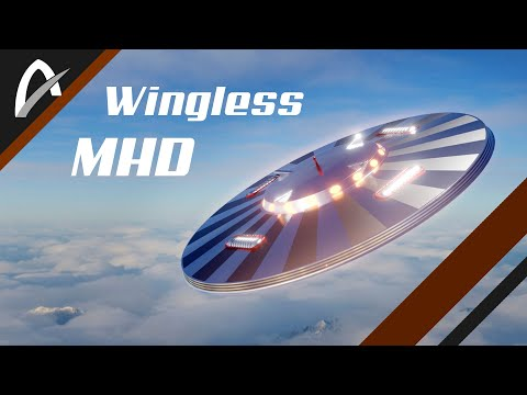 Wingless EFE Touring Craft MHD