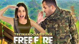 FREEFIRE COM A BRUNA GOMES - MELHOR TIME DO MUNDO