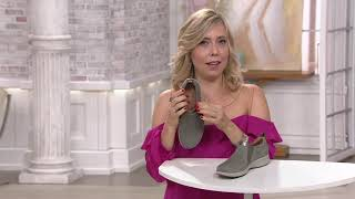cero Prisión infierno  Clarks Unstructured Side-Zip Slip-On Shoes - Un.Adorn Zip on QVC - YouTube
