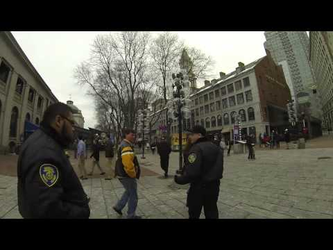 Private security guard assaults Examiner reporter outside Quincy Market