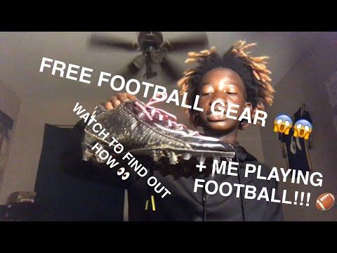 FREE FOOTBALL GEAR!