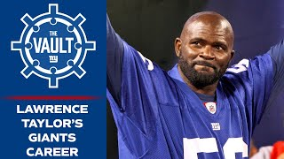 Lawrence Taylor: The Greatest Football Player EVER