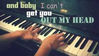 Meghan Trainor 3am with lyrics piano cover (piano kinetic typography)