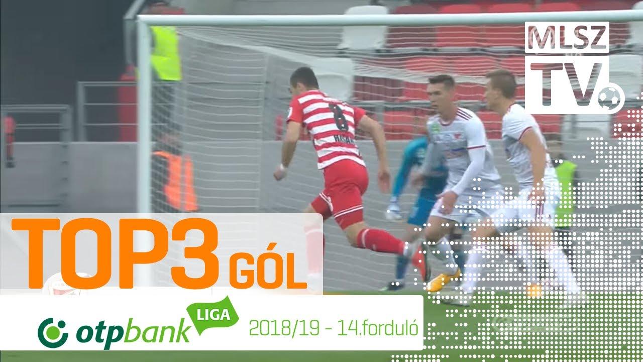TOP 3 GÓL – 14. forduló | OTP Bank Liga | 2018/2019