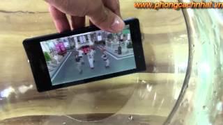 Sharp Sh06d xem 3D không cần kính dưới nước www phongcachnhat vn