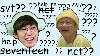 Gambar cover nct 127's 'touch' but its seventeen's 'oh my!'