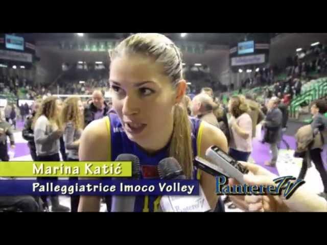 PALAVERDE. Imoco Volley Vs Il Bisonte Firenze. 3 gennaio 2015